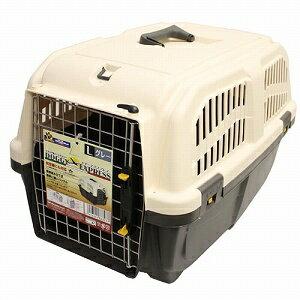 ドギーマン イタリア製ハードキャリー DOGGY EXPRESS L グレー犬猫用ハードキャリードギー...