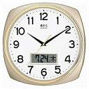 掛時計 マグデイトサークル W-349CGM シャンパンゴールドデジタルカレンダーが付いている大きめの時計です掛時計 マグデイトサークル W-349CGM シャンパンゴールドお取り寄せ商品となる為、お届けまでに1週間〜10日程度掛ります。キャンセル・変更不可