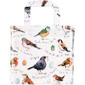 英国直輸入☆小鳥のミニバッグA〜PVCスモールガセット【BirdSong】byULSTERWEAVERS