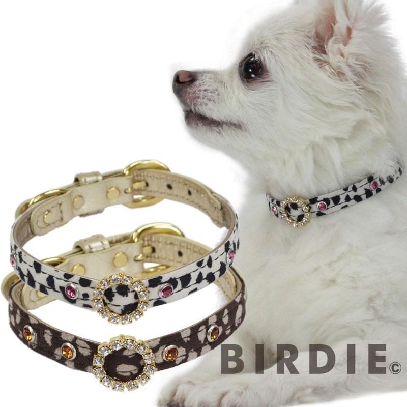 【送料無料】アニマルスワロカラー size21首囲17-21cm幅1.0cm【BIRDIE(バーディ)小型犬・猫用首輪】