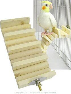 マルカン / かじり木はしご / 9993279 ( BIRDMORE バードモア 鳥用品 鳥グッズ 鳥 とり トリ インコ おもちゃ )