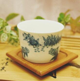 中國茶具金魚茶杯 (杯) 甲殼素小玩意白瓷杯茶中國從最好的中國茶普洱茶烏龍茶普洱茶茶杯子