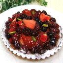 さくさくクッキーにジューシーな赤いフルーツたっぷりです。プレゼントにも最適です。タルトに...
