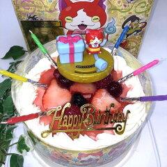 苺2段サンド/北海道生クリーム・小麦粉使用/キャラクターバースデイケーキは厳選素材のオリジナ...