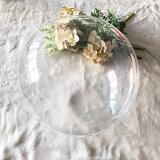 アクアバルーン ラウンド 235mm(1枚)【風船のみ】【バルーン・風船】ブライダル バースデー 誕生日 クリア 透明