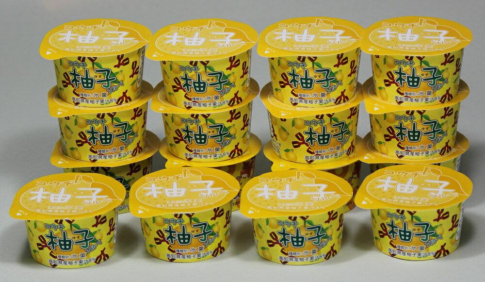 高知県・高知産 柚子ソルベ (70mL×16個 )[送料無料]