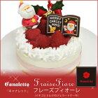 ジェラート専門店「キャナレット(Canaletto)」フレーズフィオーレ(イチゴとミルクのジェラートケーキ)