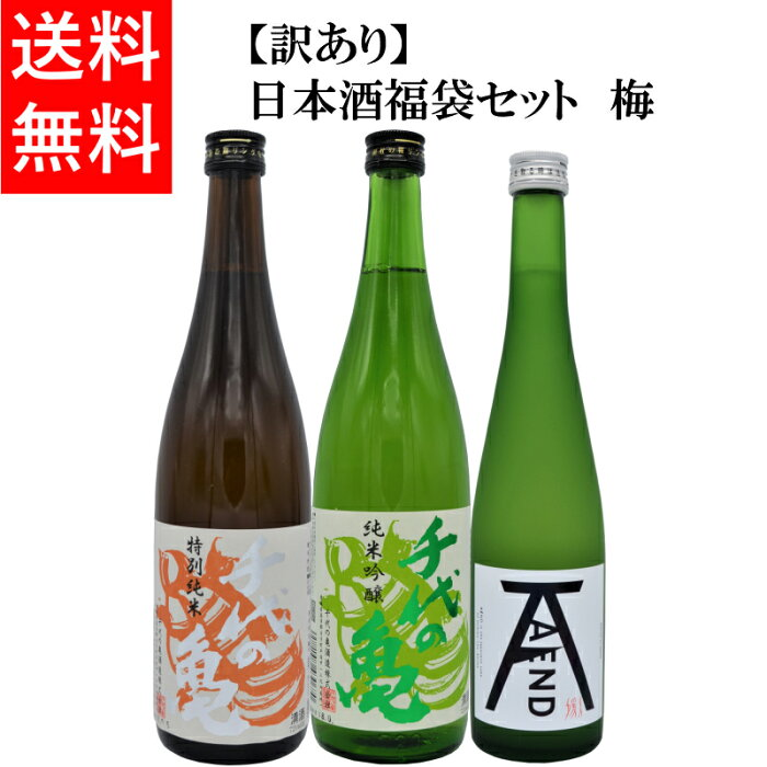 【日本酒】【送料無料】【お中元】訳あり 福袋セット 梅 【ギフト酒】