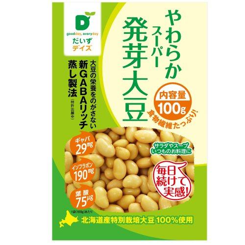 【10袋セット】だいずデイズ スーパー発芽大豆 100g画像