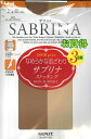 【楽天最安値に挑戦】SABRINA サブリナ パンスト ストッキング 3足組 GUNZE グンゼ 5色 M-L-LL 日本製 伝線しにくい3枚セット 自然 素肌感 素足 キレイ きれいに 綺麗に ヌードベージュ カルロ バーモンブラウン サンタンブラウン 黒