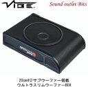 【VIBE】ヴァイブOPTISOUNDAUTO8-V2 20cm4Ω薄型サブウーファ...
