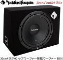 【Rockford】ロックフォードPRIMEシリーズ R1-1x12 30cm4ΩSVC...