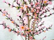 モモツリー210cm(人工樹木/造花/桃/ピンク)