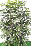 ベンジャミンパーテーション180cm(間仕切フェイク造花インテリア人工観葉植物1.8m)