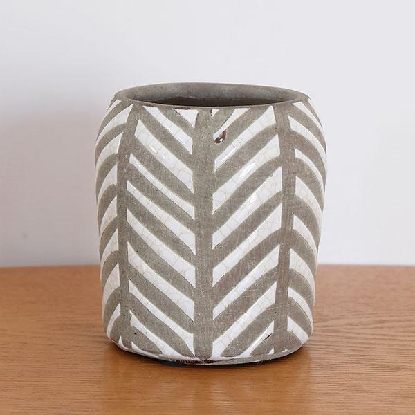 ディーザ 12cm【鉢カバー ポット 陶器 土器 粘土】