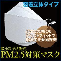 微小粒子状物質PM2.5対策マスク