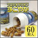 プロテオグリカン すこやか サプリメント グルコサミン/非変性II型コラーゲン コンドロイチン 含有/ 60粒 2本セット 2