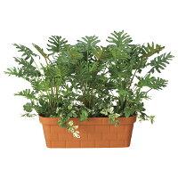 造花アート・観葉植物スプリットプランターの全体画像