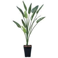 造花アート・観葉植物ストレチア1.6の全体画像