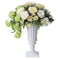 高級造花クリームカップの全体画像