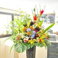 開業祝いの花リニューアルのお花