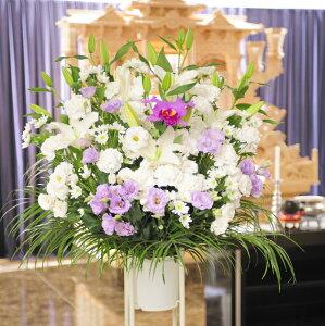 当日配送 葬儀花、供花、葬式花、お悔や花・お盆・お葬儀・ビジネスお供えに 全国配供花スタンド(…
