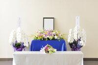 全国配送供花祭壇4点セット1日葬・家族葬・お別れ会
