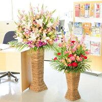 開店祝いにスタンド花
