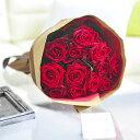 花束・ブーケ 赤バラ12本 皇室献上実績のバラ農園から宅配直...