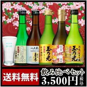 日本酒 人気の純米大吟醸・純米吟醸 豪華版飲み比べセット TNY-5 【あす楽】【送料無料】
