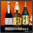 日本酒 特撰 純米大吟醸セット TR-3B 720ml×3本 送料無料ギフトお中元夏ボーナス
