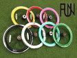 『FUN』【20インチ カメレオンリム】※リアホイール単品[ピスト][パーツ][ピストパーツ][リム][ホイール][BMX][ミニベロ][小径車][ビーチクルーザー][コグ付][自転車]