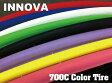 『INNOVA』【700Cカラータイヤ】700×23C 自転車用タイヤ[ピスト][パーツ][ピストパーツ][タイヤ][クロスバイク][自転車]