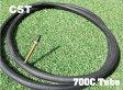 『CST』【700C タイヤチューブ】自転車用タイヤチューブ[ピスト][パーツ][ピストパーツ][タイヤ][自転車]