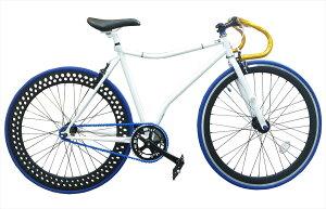 オーダーメイド 自転車 スティングレイピストバイク 完成車 シングルスピードホワイト フラットフレーム(530mm)ご購入前に注意事項を必ずご確認ください。 宇宙で1台だけのオーダーバイクを手に入れろ!!ピストバイク 自転車