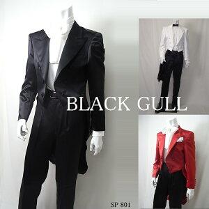 BLACKGULLステージ衣装男性メンズロックバンド衣装カラオケコスチュームV系ホストハロウィンコスプレ送料無料燕尾
