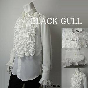 BLACKGULLステージ衣装男性メンズロックバンド衣装カラオケコスチュームV系ホストハロウィンコスプレ送料無料リボンタイシャツ