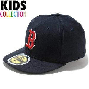 ニューエラ キッズ NEW ERA Kid's 59FIFTY MLB On-Field ボストン・レッドソックス ゲーム キャップ CAP 帽子 子供用 11449306 チームカラー画像