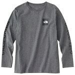 ノースフェイスより度詰めコットンで厚みがありながらもしなやかな着心地の長袖Tシャツ