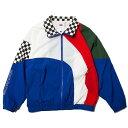 ナインルーラーズ ジャケット トラックジャケット チェッカーフラッグ NINE RULAZ Fly Track jacket NRSS18-007 マルチカラー