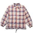ナインルーラーズ コーチジャケット メンズ レディース 送料無料 NINE RULAZ LINE Check Coach Jacket アウター ジャケット セットアップ ストリート レゲエ ブランド M-XXL チェック NRAW19-003