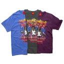 【即日発送】ナインルーラーズ Tシャツ メンズ レディース 半袖 レゲエ パーティ NINE RULAZ LINE Midnight Raver Tee 全3色 M-XXL NRSS19-011