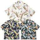 APPLEBUM アップルバム アロハシャツ Flower5021 S/S Shirt applebum 送料無料 レーヨン素材 開襟シャツ オープンカラー 半袖 おしゃれ プレゼント 全3色 M-XL 2110204