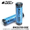 保護回路付 充電池 ケース付 BLACKWOLF ブラックウルフ