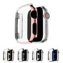 Apple Watch Series 4 ケース/カバー PC カバーケース/カバー 40mm用 メッキ 液晶カバー アップルウォッチ シリーズ4 クリアカバー ハードケース