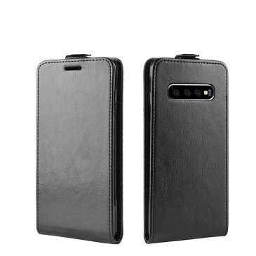Samsung Galaxy S10/S10+/S10e ケース/カバー 縦開き レザー フリップ式 下開き 高級 PU レザー ギャラクシー S10/S10+/S10e レザーケース/カバー おすすめ おしゃれ アンドロイド スマフォ スマホ スマートフォンケース/カバー