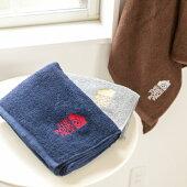 THEPORKFACE300匁フェイスタオル1枚ポークフェイスの刺繍入り泉州産カラー日本製送料無料