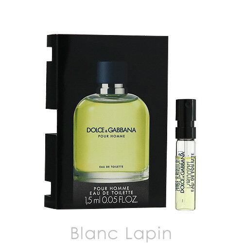 【並行輸入品】 【ミニサイズ】 ドルチェ&ガッバーナ Dolce&Gabbana プールオム EDT 1.5ml [031857]