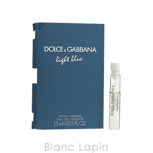 【並行輸入品】 【ミニサイズ】 ドルチェ&ガッバーナ Dolce&Gabbana ライトブループールオムオーデトワレ 1.5ml [031826]