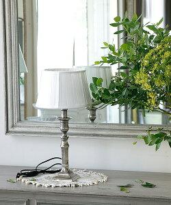 Quaint & Quality テーブルスタンド・ヘキサゴナル(シェードセット)/ 照明 スタンドランプ 間接照明 インテリア照明 アンティーク フレンチインテリア フロアライト テーブルランプ 北欧 ヴィ